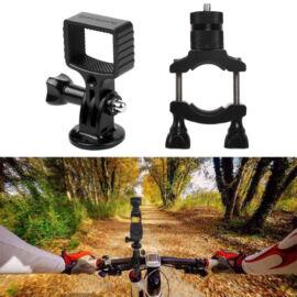 DJI Osmo Pocket / Osmo Action / GoPro / Mobile 3 biciklis/motoros rögzítő (fém felfogatás + fém fej)