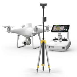 DJI Phantom 4 RTK + Ground Station combo drón komplett szett