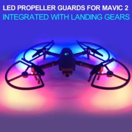 DJI Mavic 2 Pro  és Zoom LED-es rotorvédő keret és felhajtható láb