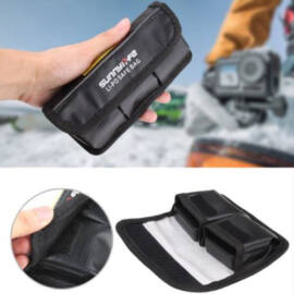 DJI Osmo Action akkumulátor Safe Bag (tűzálló akkumulátor tároló tasak, 2 darabos)