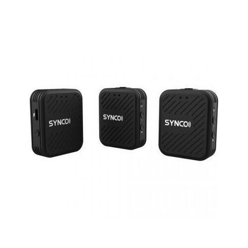 Synco WAir-G1(A2) ultrakompakt vezetéknélküli csiptetős duális mikrofon rendszer (2.4 GHz)