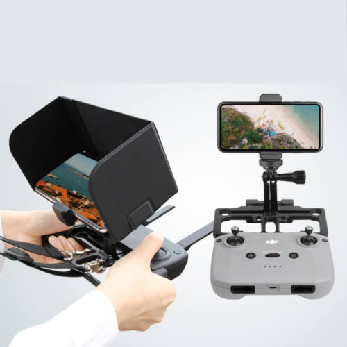 DJI Mavic 2 / Air 2 / Mini / Air / Spark telefontartó árnyékolóval