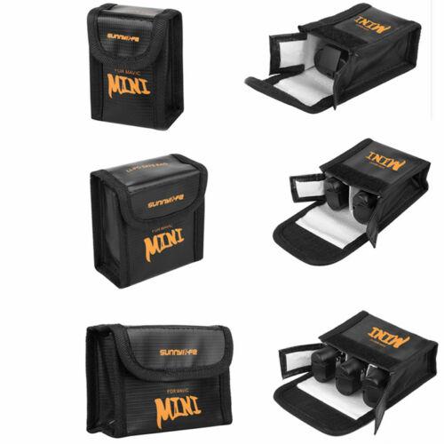 DJI Mavic 2 Pro és Zoom akkumulátor Safe Bag (tűzálló akkumulátor tároló tasak, 3 darabos)