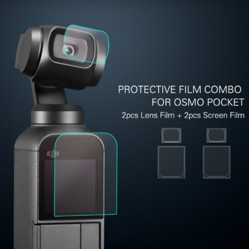 DJI Osmo Pocket védőfólia (2x2 darabos)