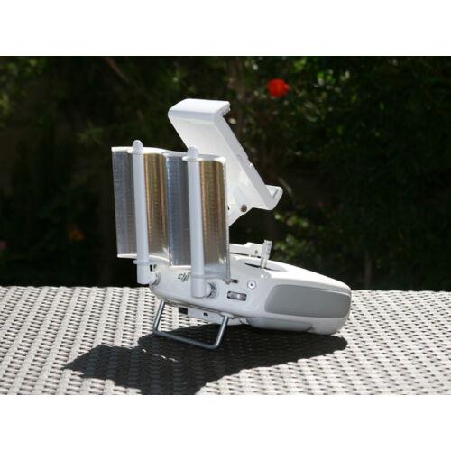 DJI Phantom 3 és 4 / Inspire 1 antenna booster reflector (hatótáv növelő)